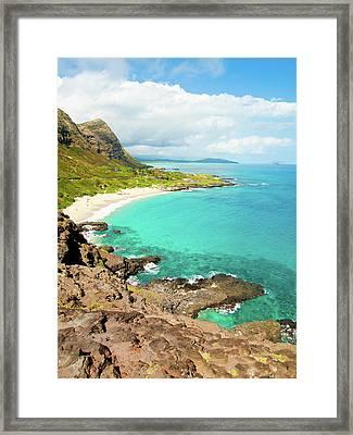 Makapu'u Beach Framed Print