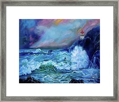 Makapuu Light House Framed Print