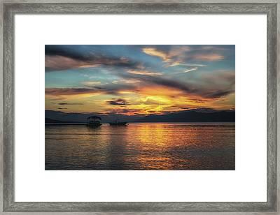 Makarska No 3 Framed Print by Chris Fletcher