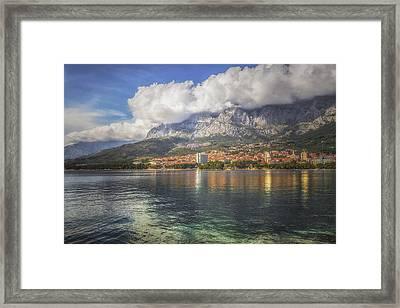 Makarska No 5 Framed Print by Chris Fletcher