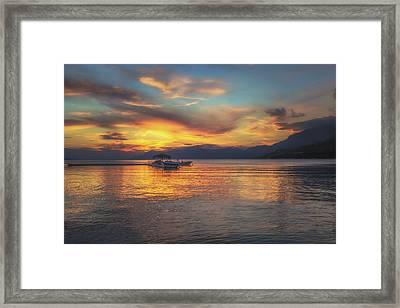 Makarska No 6 Framed Print by Chris Fletcher