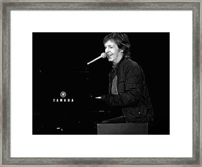 Make A Joyful Noise Framed Print by Keri Butcher
