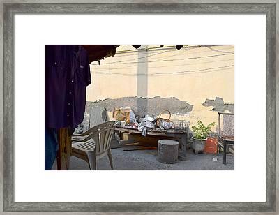 Make A Living Framed Print by Sumit Mehndiratta