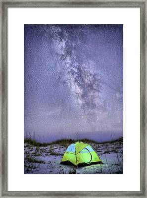 Make A Wish Framed Print by JC Findley