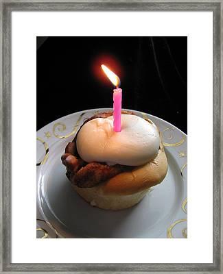 Make A Wish Framed Print by Lindie Racz