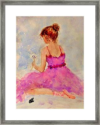 Make A Wish..16 Framed Print