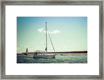 Framed Print featuring the photograph Make Headway by Joel Witmeyer