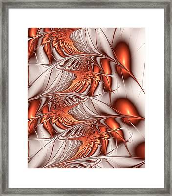 Make It Orange Framed Print by Anastasiya Malakhova