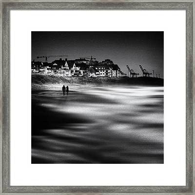 Make Me See A Million Stars Framed Print by Piet Flour