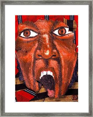 Make Me Wanna Holla Framed Print by Malik Seneferu