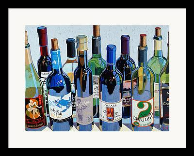 Cakebread Framed Prints
