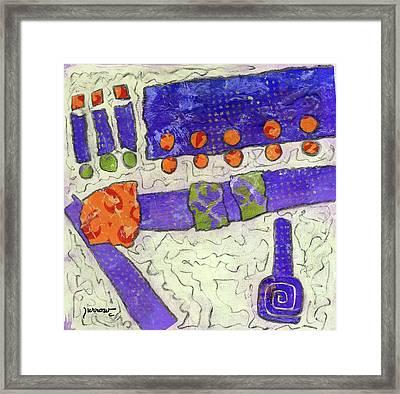 Make New Friends Framed Print by Sue Furrow