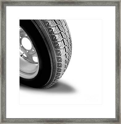Make Tyre Tracks Framed Print by Jorgo Photography - Wall Art Gallery