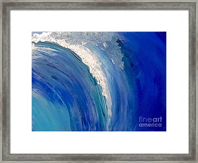 Make Waves Framed Print