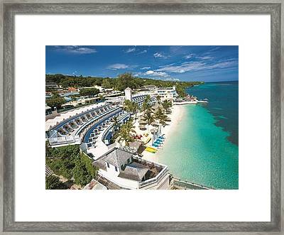 Make Yourself Amazed By The Beauty Of Us Virgin Islands Framed Print by Peter Parker