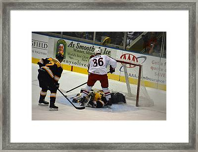 Makes The Save Framed Print by Mike Martin