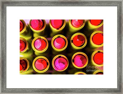 Makeup Symmetry Framed Print by Jorgo Photography - Wall Art Gallery