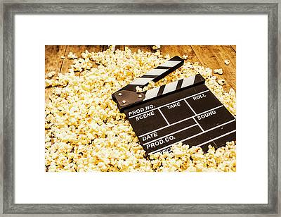 Making A Blockbuster Framed Print by Jorgo Photography - Wall Art Gallery