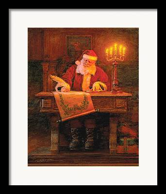 Christmas Art Framed Prints