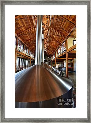 Making Beer Framed Print by Keith Ducker