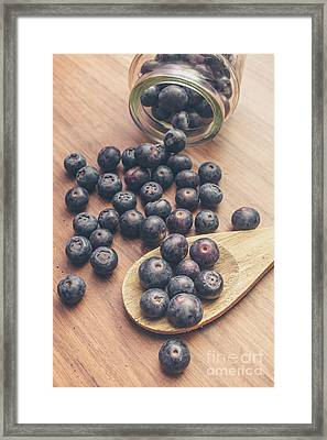 Making Blueberry Jam Framed Print by Jorgo Photography - Wall Art Gallery