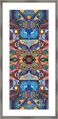 Making Magic - A  T J O D  Arrangement Framed Print