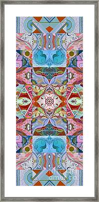 Making Magic - A  T J O D Series Arrangement Variation Framed Print by Helena Tiainen