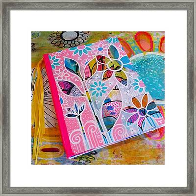 Making #meadori Style #artjournals Framed Print
