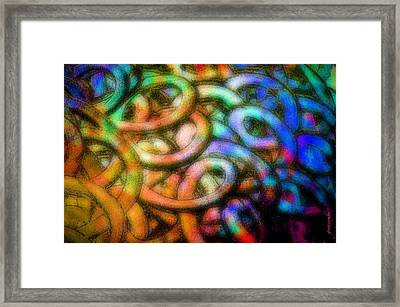 Framed Print featuring the photograph Making Memories by Gwyn Newcombe