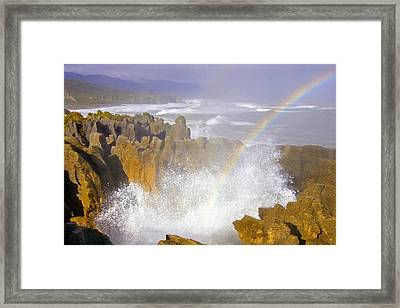 Making Miracles Framed Print by Mike  Dawson