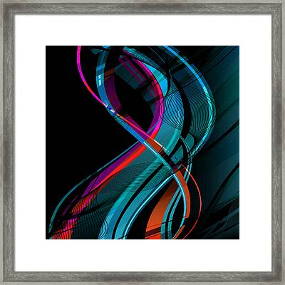 Making Music 1-2 Framed Print by Angelina Vick