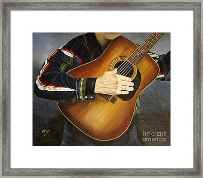 Making Music Framed Print