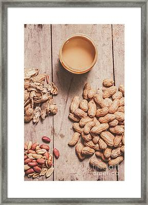 Making Peanut Butter Framed Print