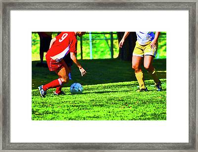 Making The Cut Framed Print by Peter  McIntosh