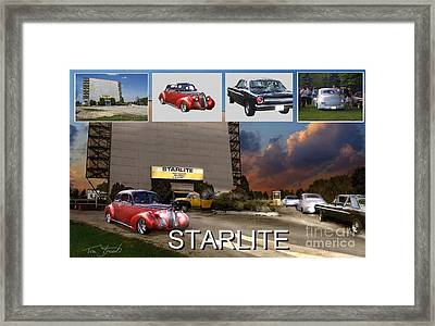 Making The Starlite Framed Print by Tom Straub