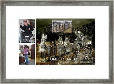 Making The Undertaker Framed Print by Tom Straub