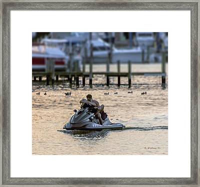 Making Waves Framed Print by Brian Wallace