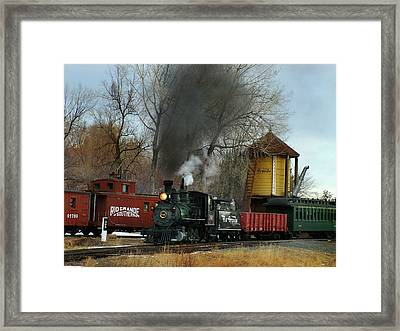 Making Way Framed Print by Ken Smith