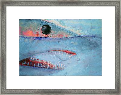 Mako Framed Print