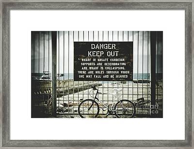 Framed Print featuring the photograph Mala Wharf Lahaina Maui Hawaii by Sharon Mau