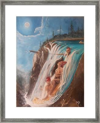 Malabeam's Sacrifice Framed Print by Nicholas Paul