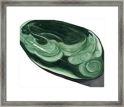 Malachite1 Framed Print
