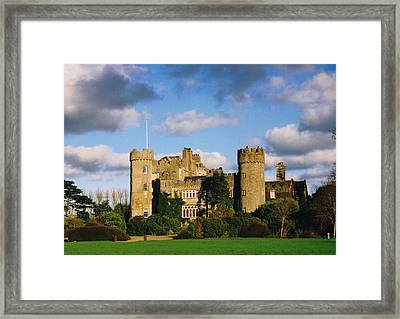 Malahide Castle Framed Print by Martina Fagan