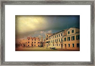 Framed Print featuring the photograph Malamacco Massive Cloud by Anne Kotan