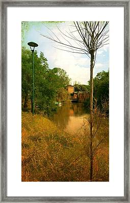 Framed Print featuring the photograph Malamocco Canal No2 by Anne Kotan