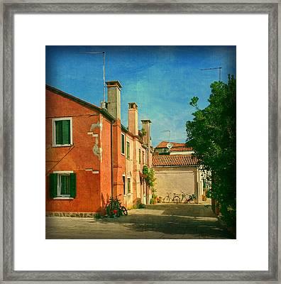 Malamocco Corner No1 Framed Print