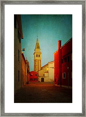 Malamocco Dusk No1 Framed Print
