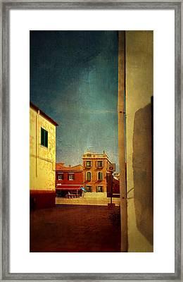 Malamocco Glimpse No1 Framed Print
