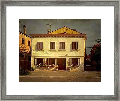 Malamocco House No1 Framed Print