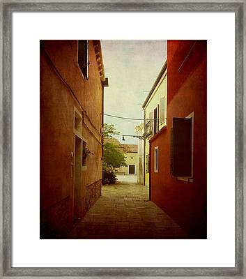 Malamocco Perspective No2 Framed Print by Anne Kotan
